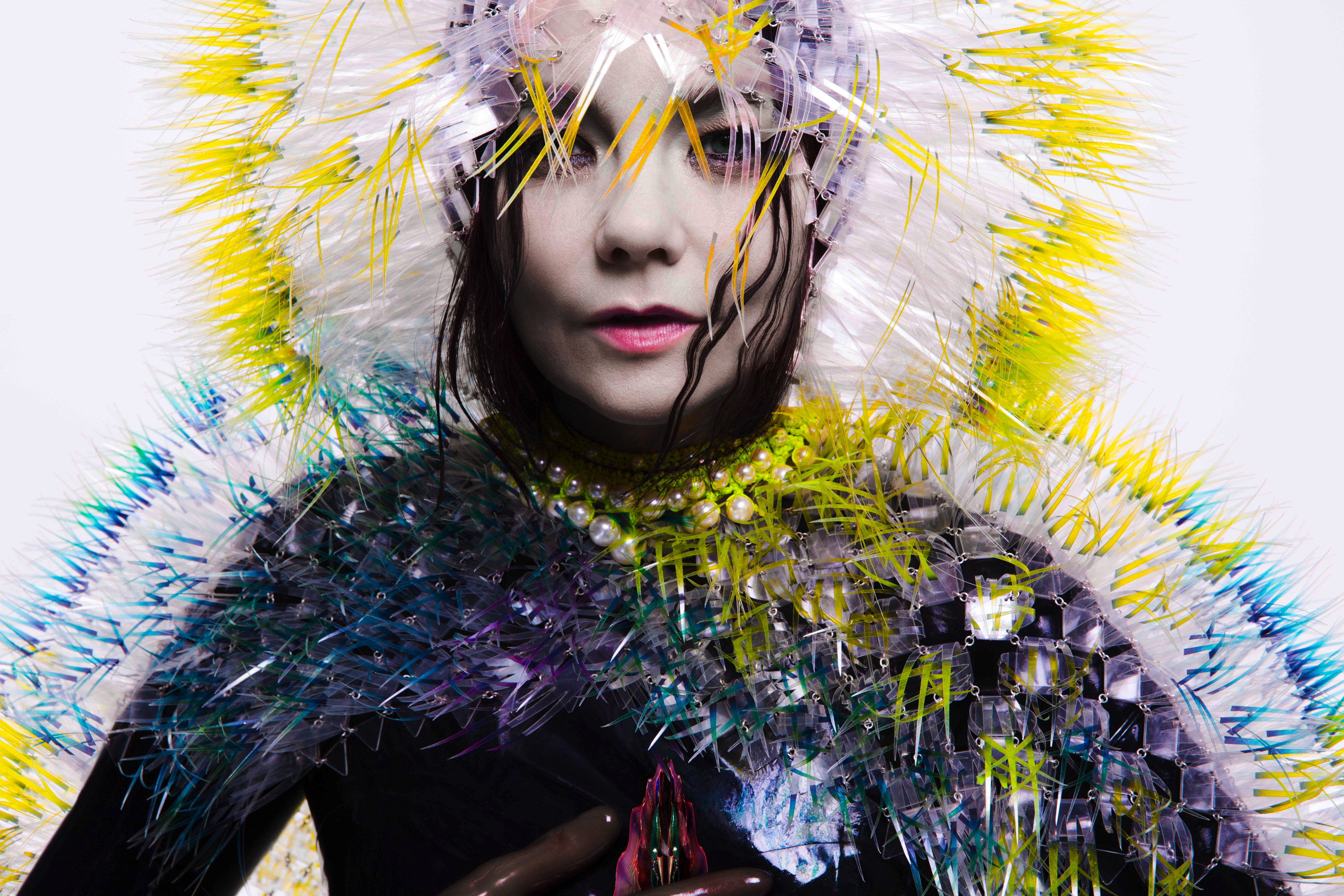 Bjork wears Syren Catsuit on her Latest Album Cover